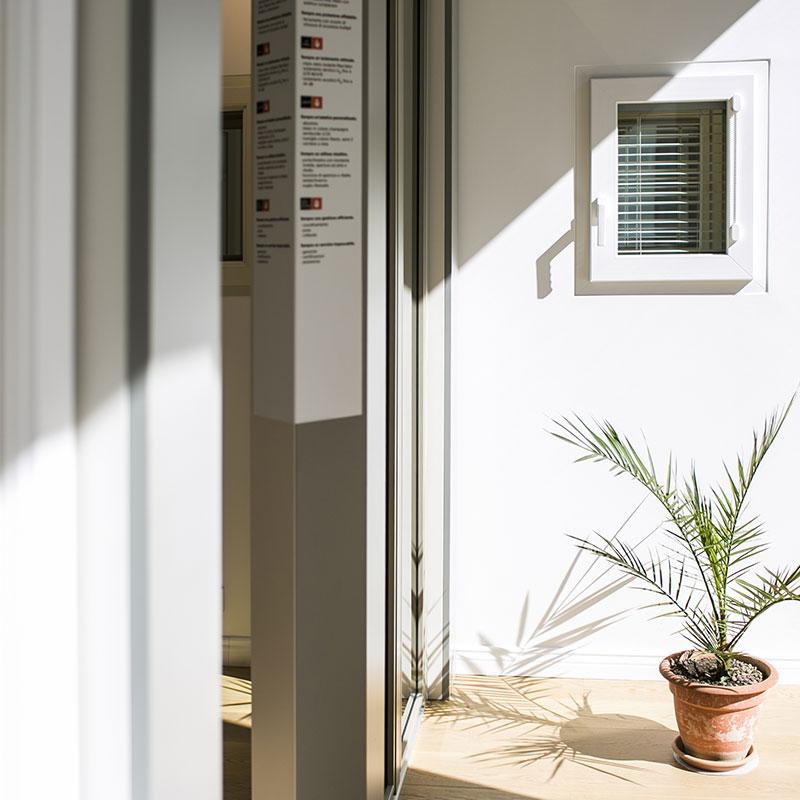 finestre pvc parete